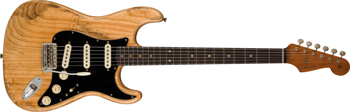 Dual-Mag II Strat® Heavy Relic®, AAA Rosewood Fingerboard, Aged Natural