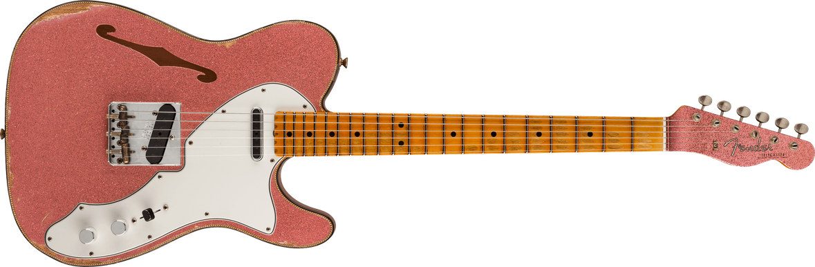 60s Custom Tele® Thinline Relic®, Maple Fingerboard, Champagne Sparkle