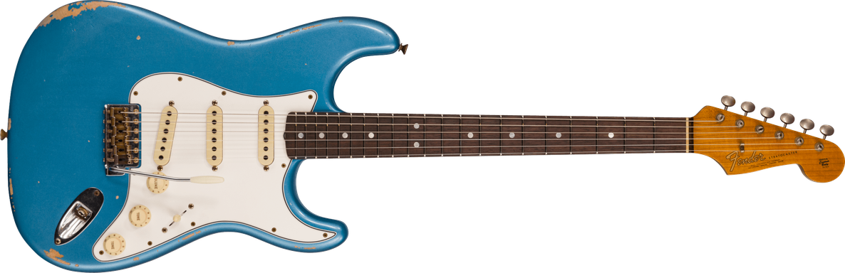 Limited Edition - 1964 Stratocaster® - Relic®, Aged Lake Placid Blue