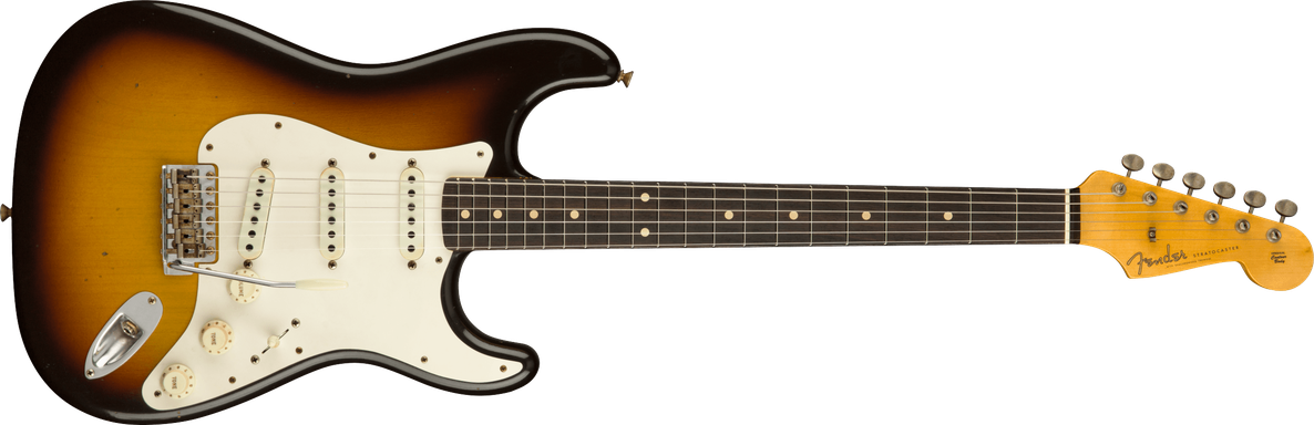 1959 Stratocaster® Journeyman Relic®, AAA Rosewood Fingerboard, Faded Aged Chocolate 3-Color Sunburst