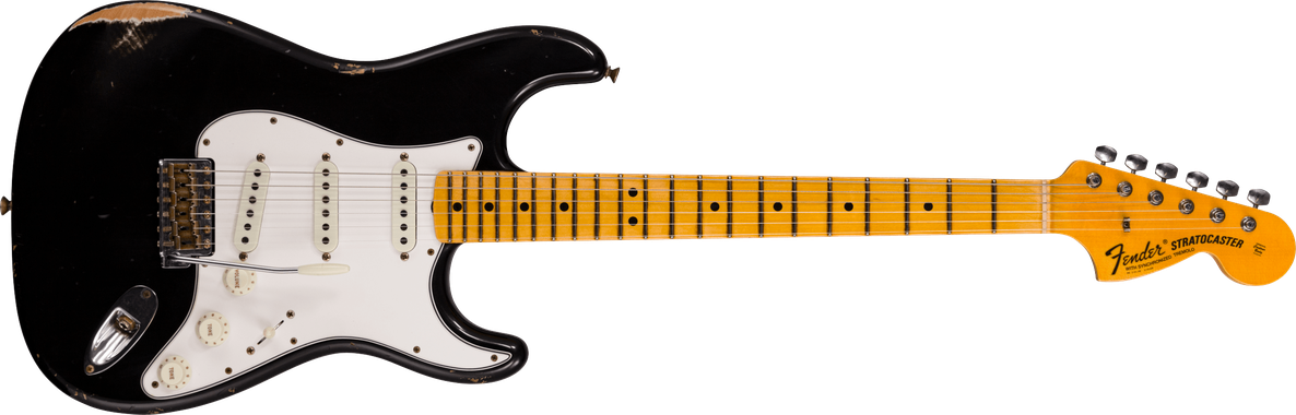 Limited Edition - 1968 Stratocaster® - Relic®, Aged Black