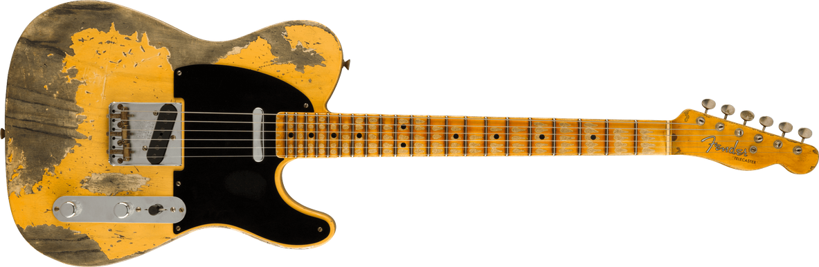 Limited Edition - Limited Edition '51 Telecaster® Super Heavy Relic®, Maple Fingerboard, Aged Nocaster® Blonde