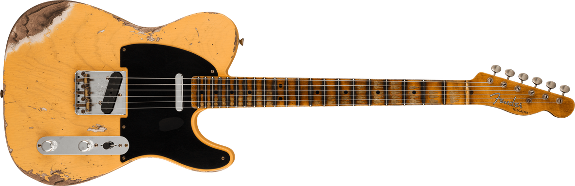 Limited Edition - Limited Edition '51 Telecaster® Heavy Relic®, Maple Fingerboard, Aged Nocaster® Blonde