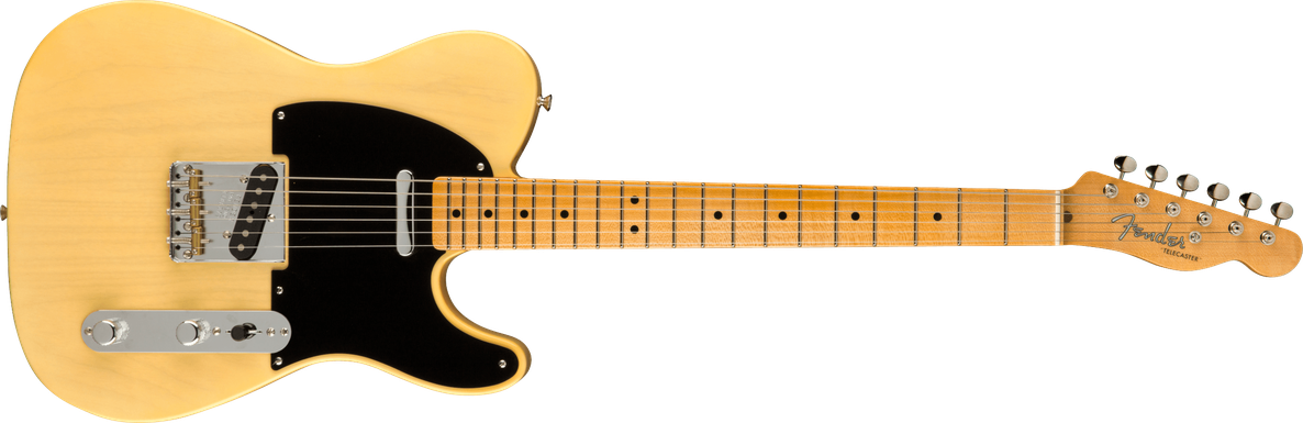 Limited Edition - Limited Edition '51 Telecaster® NOS, Maple Fingerboard, Faded Nocaster® Blonde
