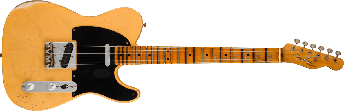 Limited Edition - Limited Edition '51 Telecaster® Relic®, Maple Fingerboard, Aged Nocaster® Blonde
