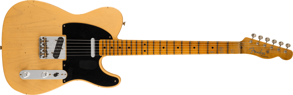 Limited Edition - Limited Edition '51 Telecaster® Journeyman Relic®, Maple Fingerboard, Aged Nocaster® Blonde