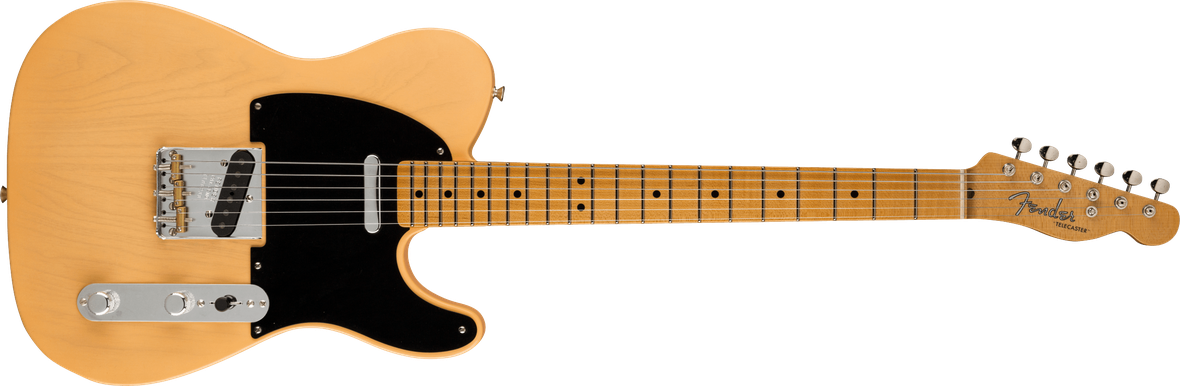 Limited Edition - Limited Edition '51 Telecaster® DLX Closet Classic, Maple Fingerboard, Nocaster® Blonde