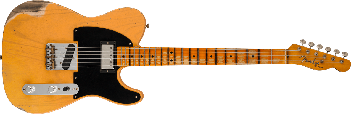 Limited Edition - Limited Edition '51 HS Telecaster® Heavy Relic®, Maple Fingerboard, Aged Butterscotch Blonde