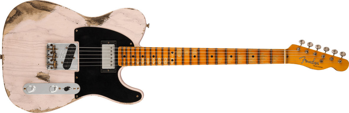 Limited Edition - Limited Edition '51 HS Telecaster® Heavy Relic®, Maple Fingerboard, Aged White Blonde