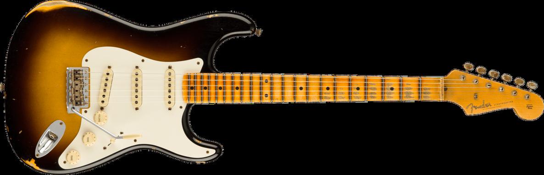 '57 Stratocaster® Relic®, Maple Fingerboard, Wide-Fade 2-Color Sunburst