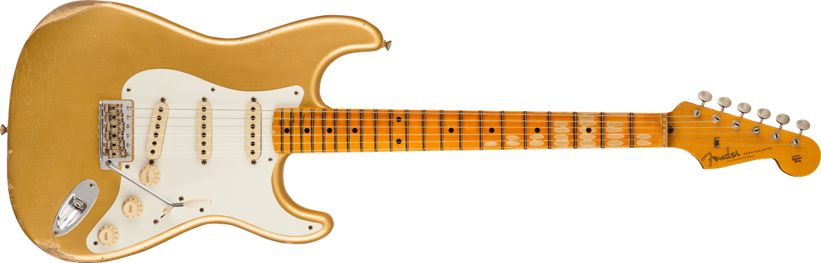 '57 Stratocaster® Relic®, Maple Fingerboard, Aged HLE Gold