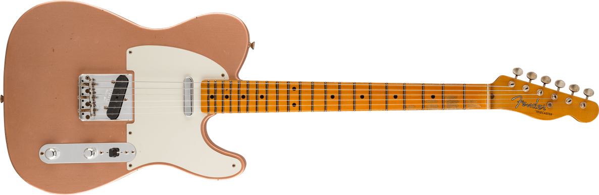 1955 Telecaster® Journeyman Relic®, Maple Fingerboard, Faded Aged Copper