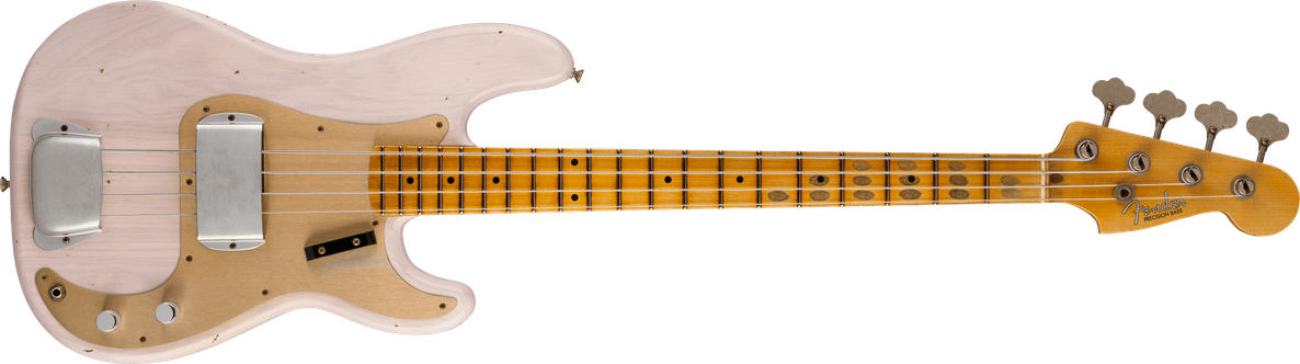 1959 Precision Bass® Journeyman Relic®, Maple Fingerboard, Aged White Blonde