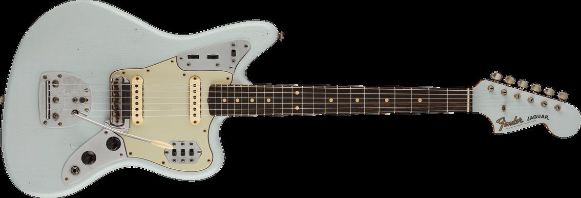 '63 Jaguar® Journeyman Relic®, Rosewood Fingerboard, Super Faded Aged Sonic Blue