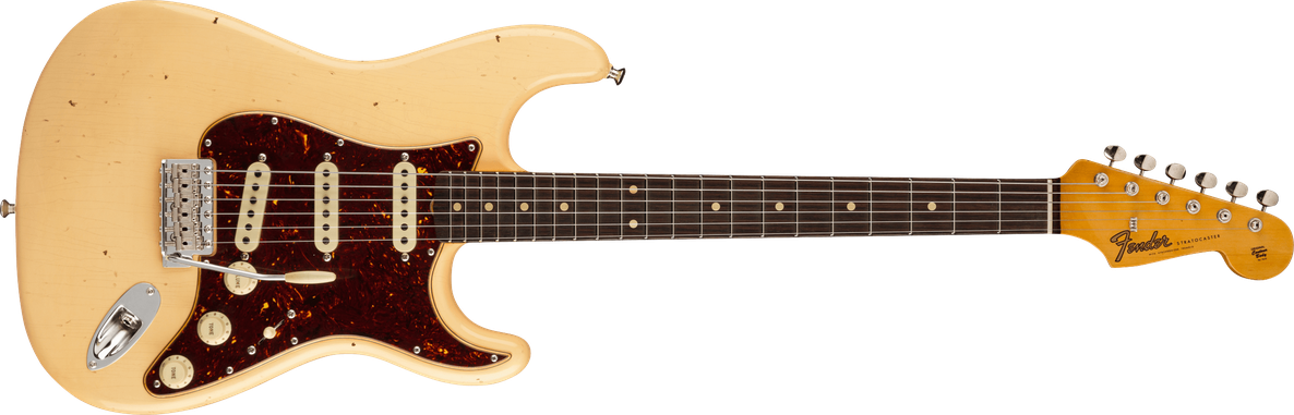 Postmodern Stratocaster® Journeyman Relic® with Closet Classic Hardware, Rosewood Fingerboard, Aged Vintage White