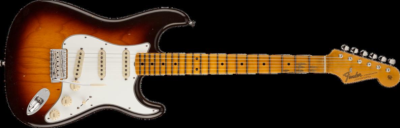 Postmodern Stratocaster® Journeyman Relic® with Closet Classic Hardware, Maple Fingerboard, Wide-Fade Chocolate 2-Color Sunburst