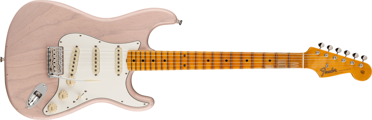 Postmodern Stratocaster® Journeyman Relic® with Closet Classic Hardware, Maple Fingerboard, Dirty White Blonde