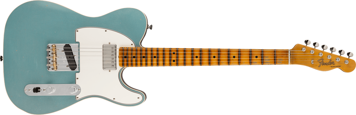 Postmodern Telecaster® Journeyman Relic® with Closet Classic Hardware, Maple Fingerboard, Aged Firemist Silver