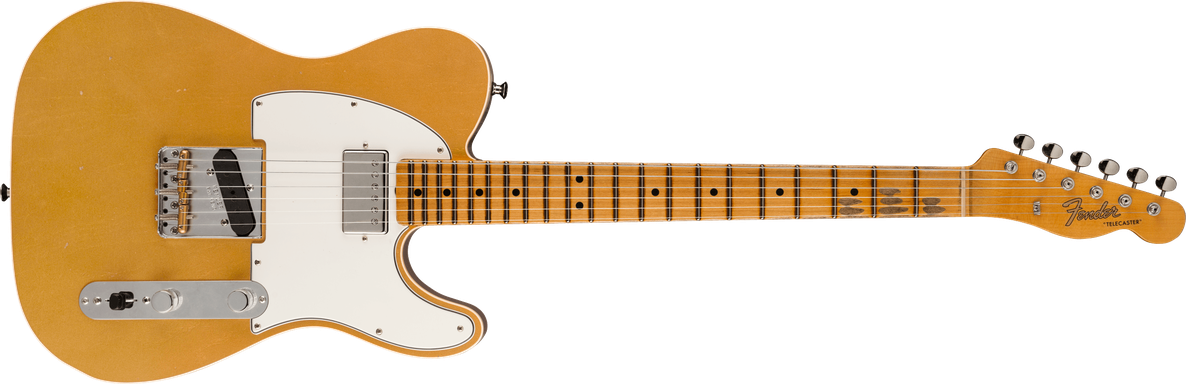 Postmodern Telecaster® Journeyman Relic® with Closet Classic Hardware, Maple Fingerboard, Aged Aztec Gold