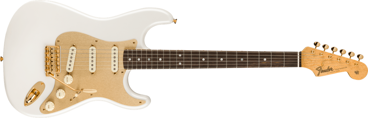 Limited Edition - Limited Edition 75th Anniversary Stratocaster® NOS, Rosewood Fingerboard, Diamond White Pearl