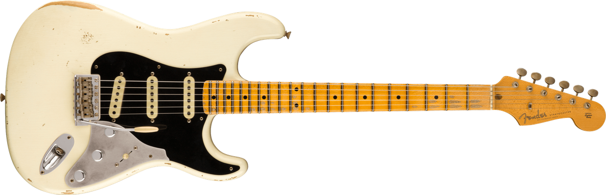 Limited Edition - Limited Edition Poblano II Stratocaster® Relic®, Maple Fingerboard, Aged Olympic White
