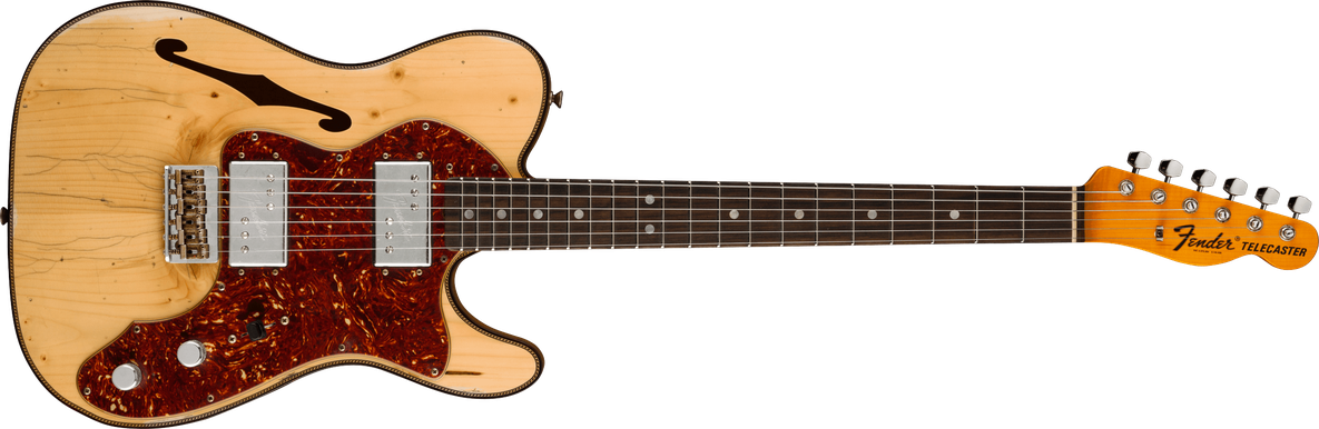 Limited Edition - Limited Edition Knotty CuNiFe Telecaster® Relic®, Rosewood Fingerboard, Aged Natural