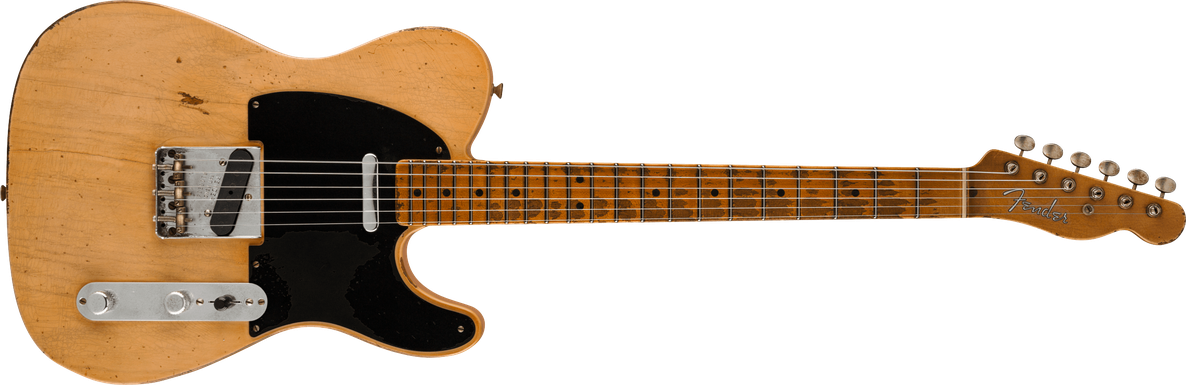 2021 Kyle McMillin Masterbuilt 70th Anniversary Nocaster® Relic®, Maple Fingerboard, Honey Blonde