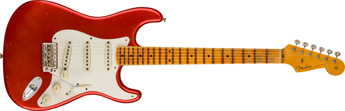 Limited Edition - Limited Edition '57 Stratocaster® Journeyman Relic®, Maple Fingerboard, Melon Candy
