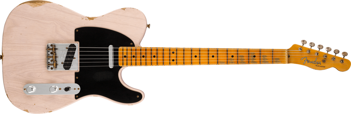 Limited Edition - Limited Edition '51 Telecaster® Relic®, Maple Fingerboard, Aged White Blonde