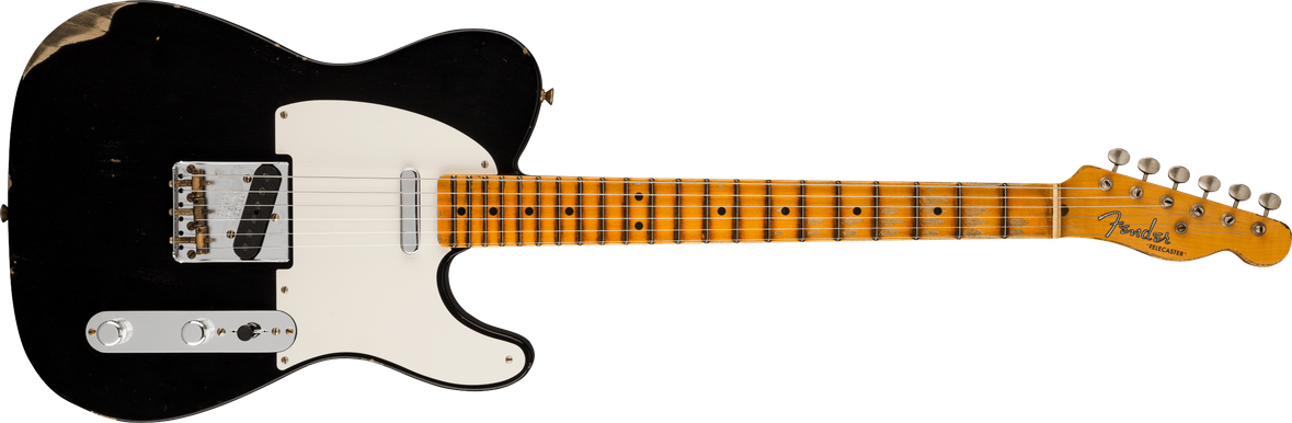 Limited Edition - Limited Edition '51 Telecaster® Relic®, Maple Fingerboard, Aged Black