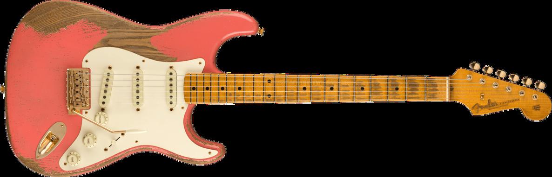 2021 Greg Fessler Masterbuilt '57 Stratocaster® Heavy Relic®, Maple Fingerboard, Fiesta Red