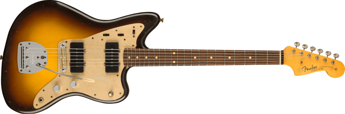 Limited Edition - Limited Edition '59 Jazzmaster® Journeyman Relic®, Rosewood Fingerboard, Wide-Fade Chocolate 2-Color Sunburst