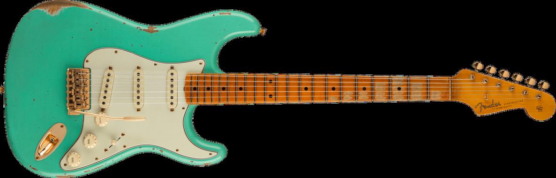 Limited Edition - Limited Edition '62 Bone Tone Stratocaster® Relic®, Maple Fingerboard, Faded Aged Sea Foam Green