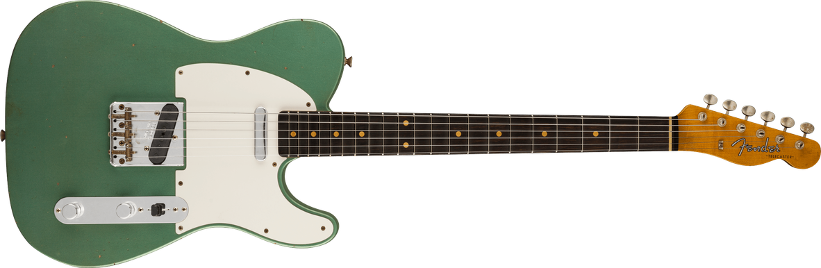 Limited Edition - Limited Edition '60 Telecaster® Journeyman Relic®, Rosewood Fingerboard, Faded Aged Sherwood Green Metallic