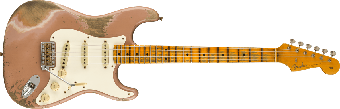Limited Edition - Limited Edition '56 Stratocaster® Super Heavy Relic®, Maple Fingerboard, Dirty Shell Pink