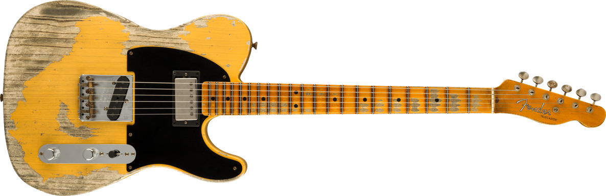 Limited Edition - Limited Edition '51 HS Telecaster® Super Heavy Relic®, Maple Fingerboard, Aged Nocaster Blonde