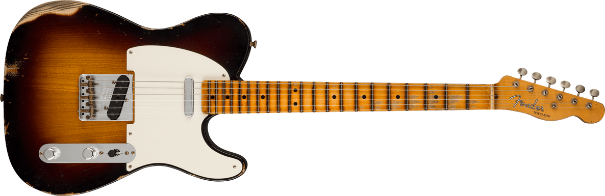 Limited Edition - Limited Edition '51 Telecaster® Relic®, Wide-Fade 2-Color Sunburst