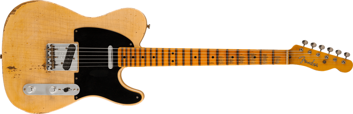 2021 Ron Thorn Masterbuilt February '51 Nocaster® Relic®, Maple Fingerboard, Faded Nocaster® Blonde