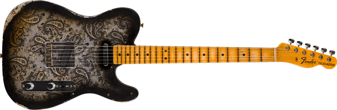 Limited Edition - 1968 Black Paisley Telecaster® - Relic®
