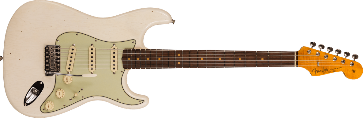 Limited Edition - 1964 Stratocaster® - Journeyman Relic® With Closet Classic Hardware, Aged Olympic White