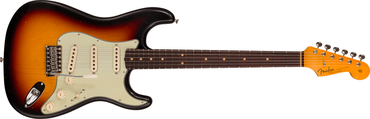 Limited Edition - 1964 Stratocaster® - Journeyman Relic® With Closet Classic Hardware, 3-color Sunburst