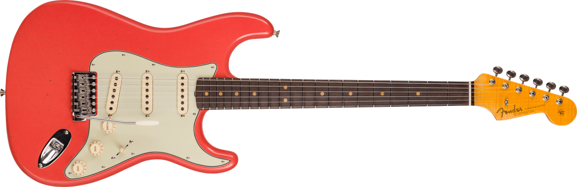 Limited Edition - 1964 Stratocaster® - Journeyman Relic® With Closet Classic Hardware, Faded Aged Fiesta Red