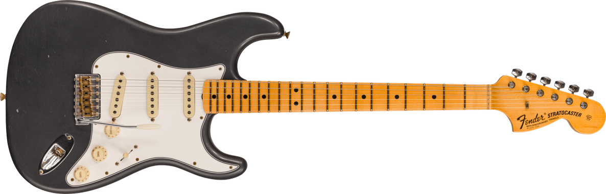 Limited Edition - 1969 Stratocaster® BT - Journeyman Relic®, Aged Charcoal Frost Metallic