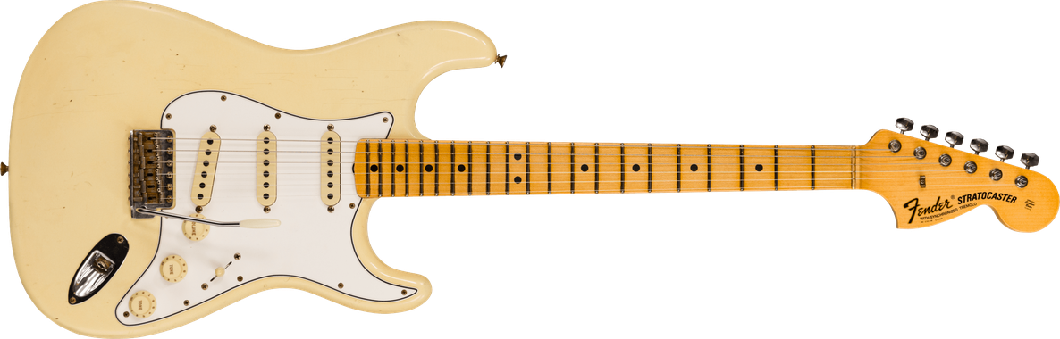 Limited Edition - 1969 Stratocaster® BT - Journeyman Relic®, Faded Aged Vintage White