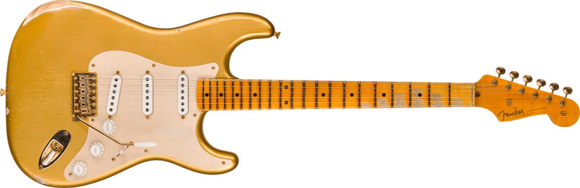 Limited Edition - 1955 Stratocaster® - Relic®, Gold Hardware, Aged Hle Gold