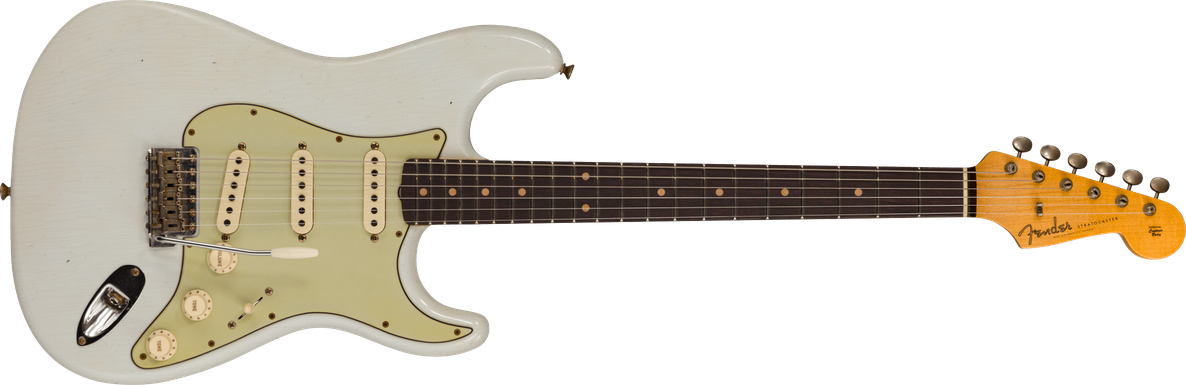 Limited Edition - 1960 Stratocaster® - Journeyman Relic®, Super Faded Aged Sonic Blue