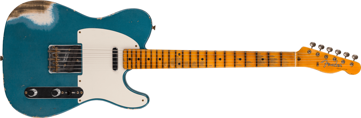 Limited Edition - 1958 Telecaster® - Heavy Relic®, Aged Lake Placid Blue