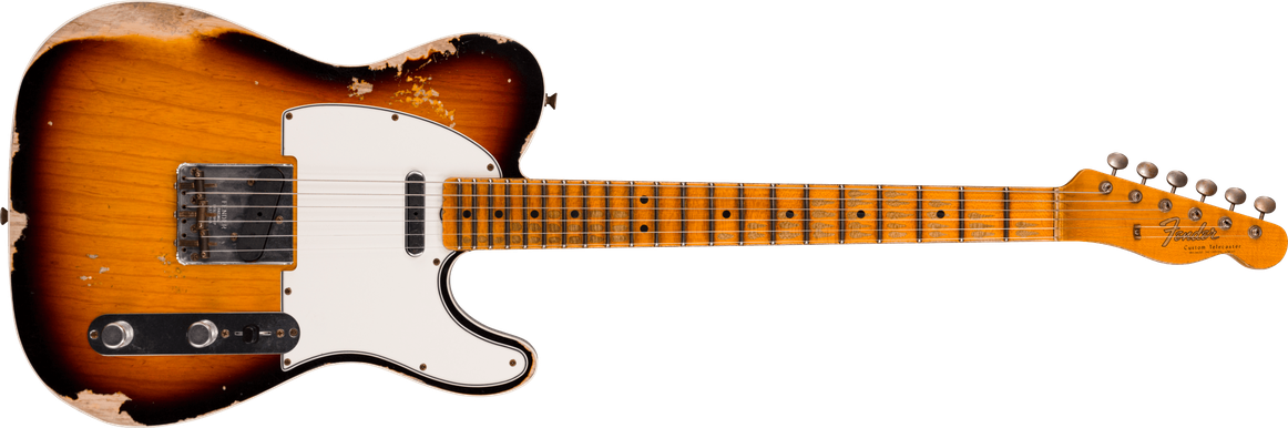 Limited Edition - 1965 Telecaster® Custom - Heavy Relic®, Faded Aged 3-color Sunburst