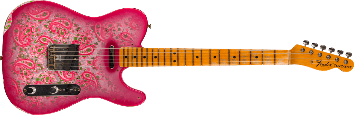 Limited Edition - 1968 Pink Paisley Telecaster® - Relic®