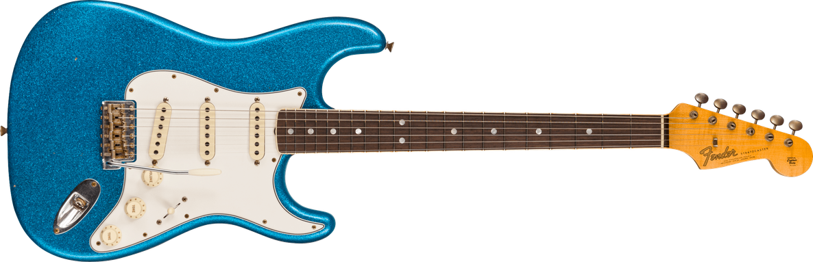 Limited Edition - 1965 Stratocaster® - Journeyman Relic®, Aged Blue Sparkle